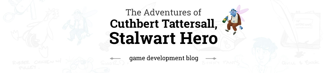 Adventures of Cuthbert: Development Blog